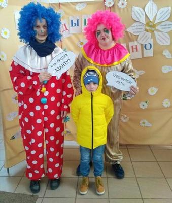 В Детской городской поликлинике №3 прошла акция «Белая ромашка»